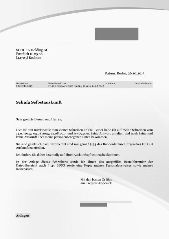 4 Schufa Selbstauskunft 26.10.2015