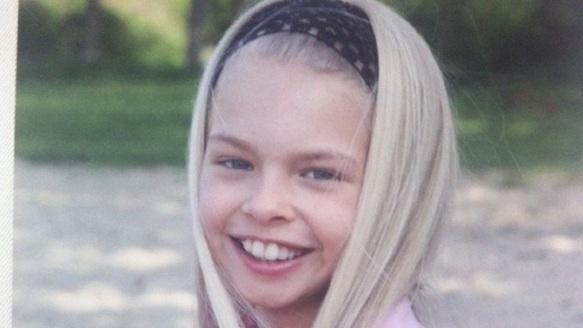 Antonia Schandorff (damals 12 jährige)