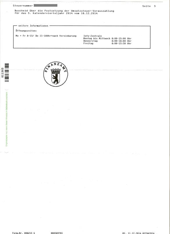 FA Bescheid 3. Quartal vom 18.12.2014 Seite3