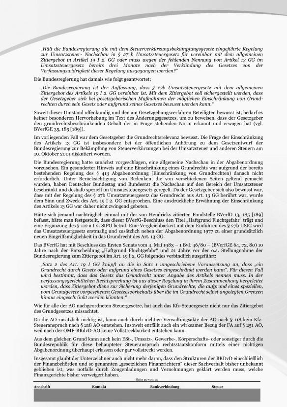 Schreiben ans Finanzamt Rundumschlag Seite 10