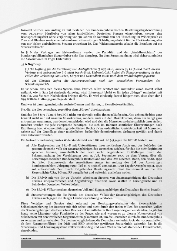 Schreiben ans Finanzamt Rundumschlag Seite 11