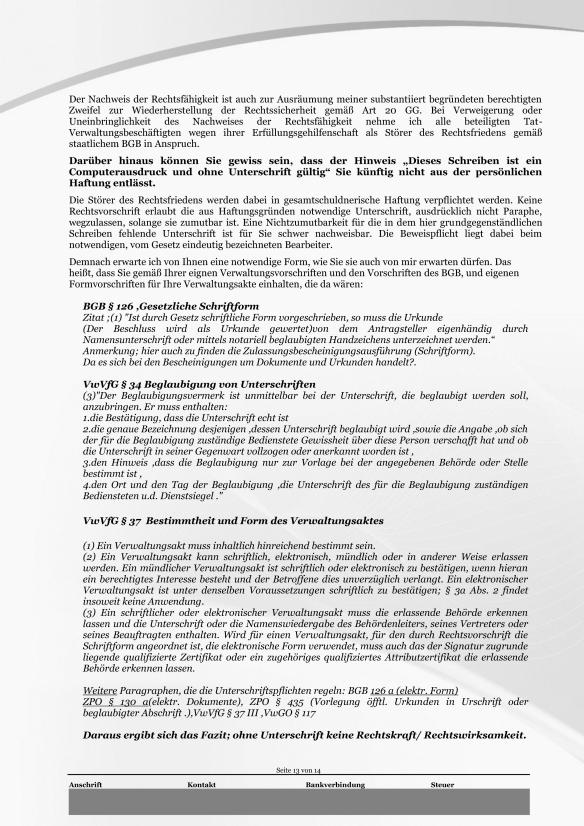 Schreiben ans Finanzamt Rundumschlag Seite 13