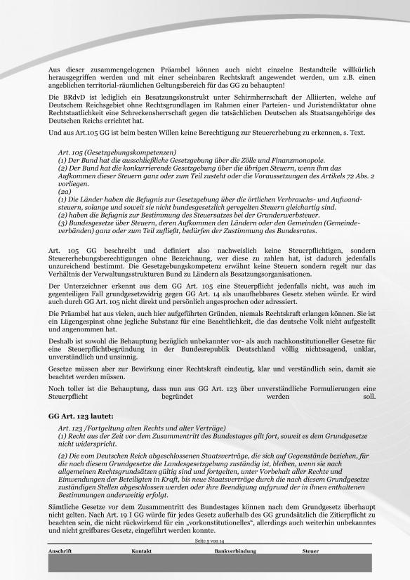 Schreiben ans Finanzamt Rundumschlag Seite 5