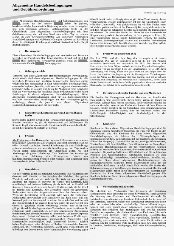 Allgemeine Handelsbedingungen und Gebührenordnung 03.10.2015 Seite_1