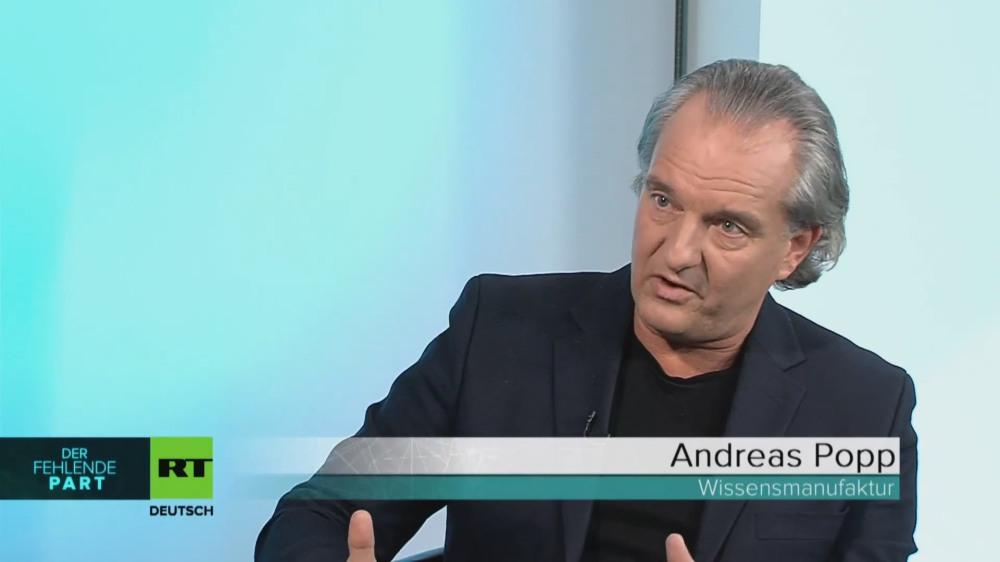 Andreas Popp über Parteivertreter und Volksvertreter - Interview bei RT deutsch