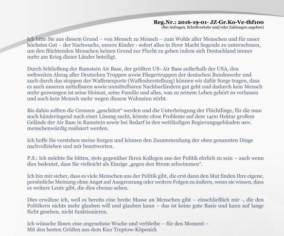 Anlage Seite 3 Erinnerung vom 19.02.2016 zur Anfrage Volksentscheid zum Tempelhofer Feld