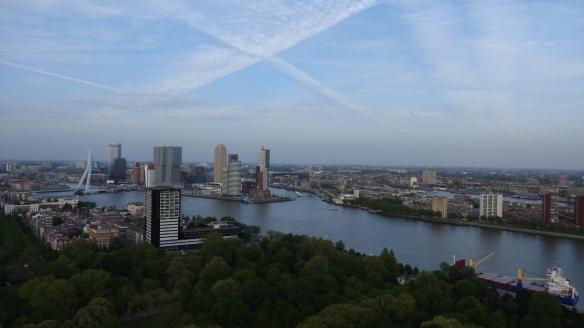 Chemtrails Blick vom Euromast Rotterdam 15.05.2015_08
