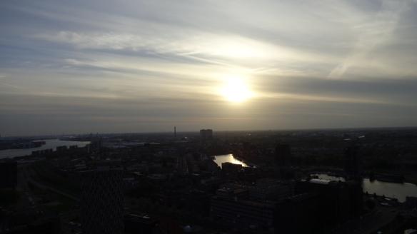 Chemtrails Blick vom Euromast Rotterdam 15.05.2015_09