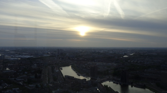Chemtrails Blick vom Euromast Rotterdam 15.05.2015_10