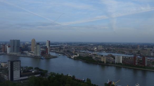 Chemtrails Blick vom Euromast Rotterdam 15.05.2015_11