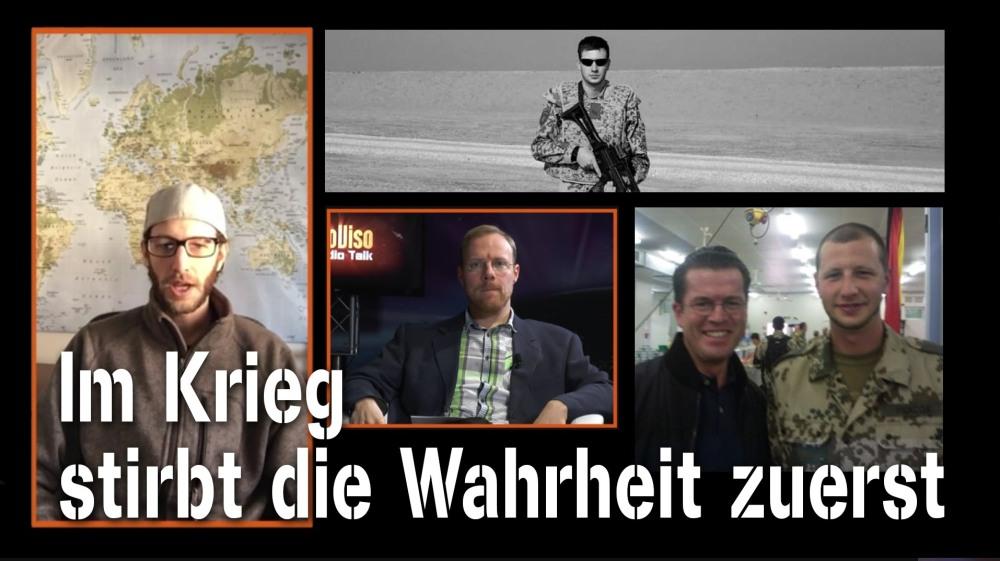 Der Germanikaner Im Krieg stirbt die Wahrheit zuerst - Timothy Clark Hickcox