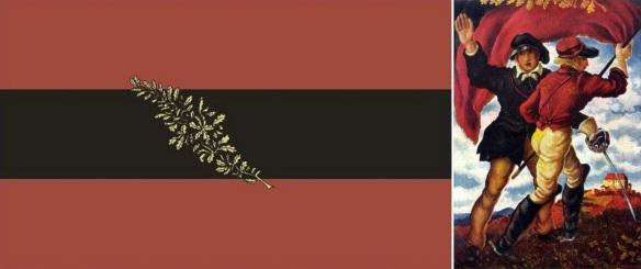 Fahne Urburschenschaft zu jena