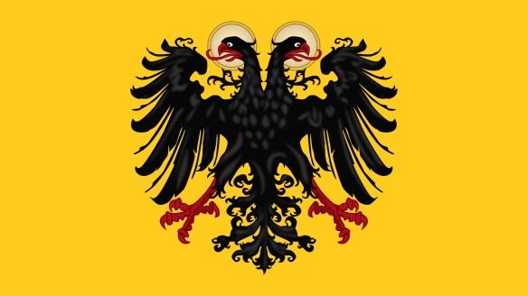 Abb.: Flagge des Heiligen Römischen Reiches Deutscher Nationen.