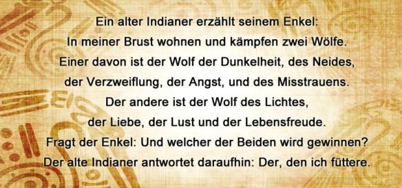 Die zwei inneren Wölfe – Kampf zwischen Gut und Böse