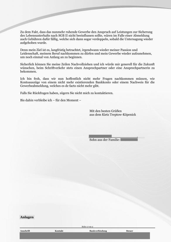 Reg.Nr. 2015-12-11-JC-ALG-JZ-626 Mitwirkung nach Aufforderung Gewerbeabmeldung Seite_2