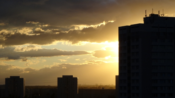 Sonnenuntergang Berlin Marzahn 25.07.2015_01
