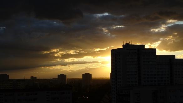 Sonnenuntergang Berlin Marzahn 25.07.2015_02