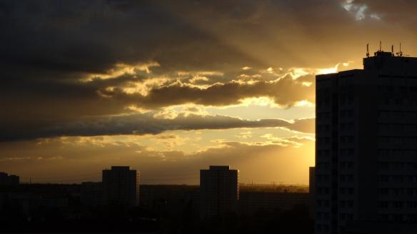 Sonnenuntergang Berlin Marzahn 25.07.2015_03