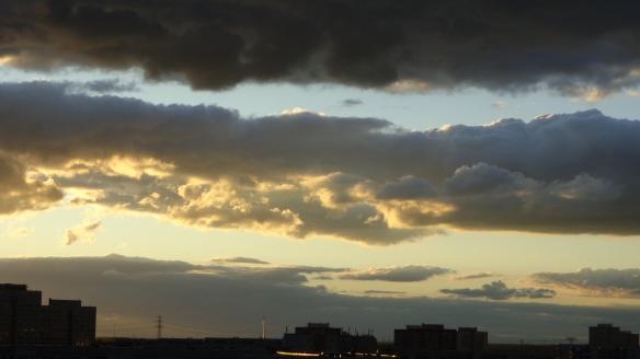 Sonnenuntergang Berlin Marzahn 25.07.2015_05