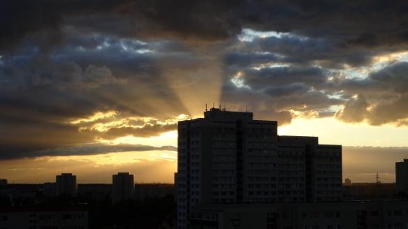 Sonnenuntergang Berlin Marzahn 25.07.2015_06