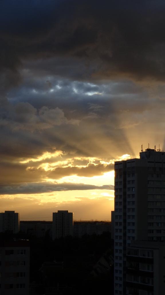 Sonnenuntergang Berlin Marzahn 25.07.2015_07