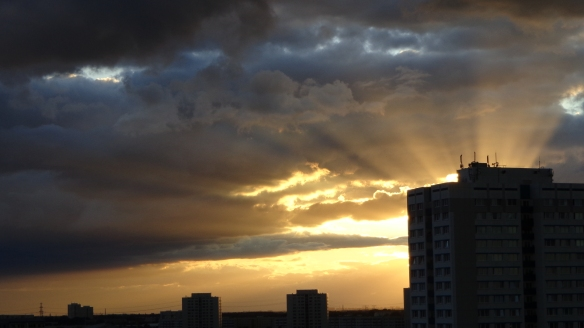 Sonnenuntergang Berlin Marzahn 25.07.2015_08