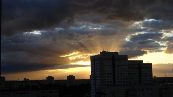 Sonnenuntergang Berlin Marzahn 25.07.2015_09