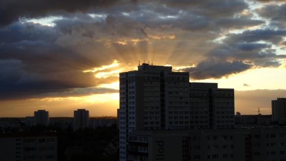 Sonnenuntergang Berlin Marzahn 25.07.2015_12
