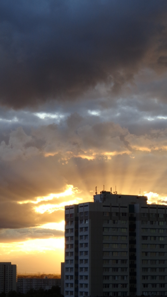 Sonnenuntergang Berlin Marzahn 25.07.2015_13