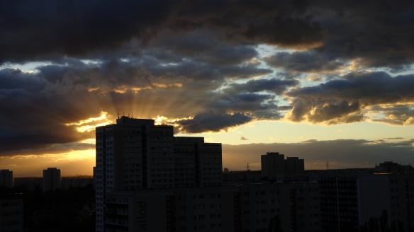 Sonnenuntergang Berlin Marzahn 25.07.2015_14
