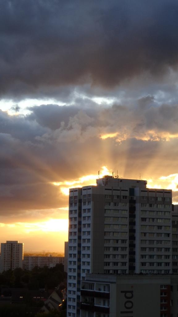 Sonnenuntergang Berlin Marzahn 25.07.2015_15