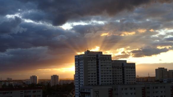 Sonnenuntergang Berlin Marzahn 25.07.2015_16