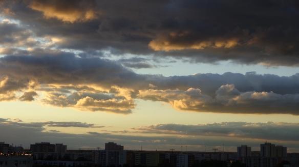 Sonnenuntergang Berlin Marzahn 25.07.2015_17