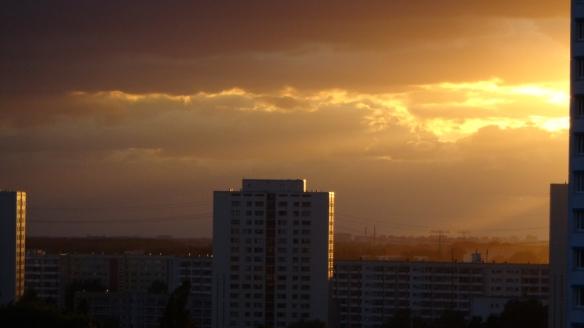 Sonnenuntergang Berlin Marzahn 25.07.2015_18