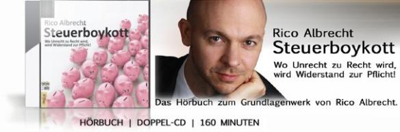 Rico Albrecht - Steuerboykott Audio CD