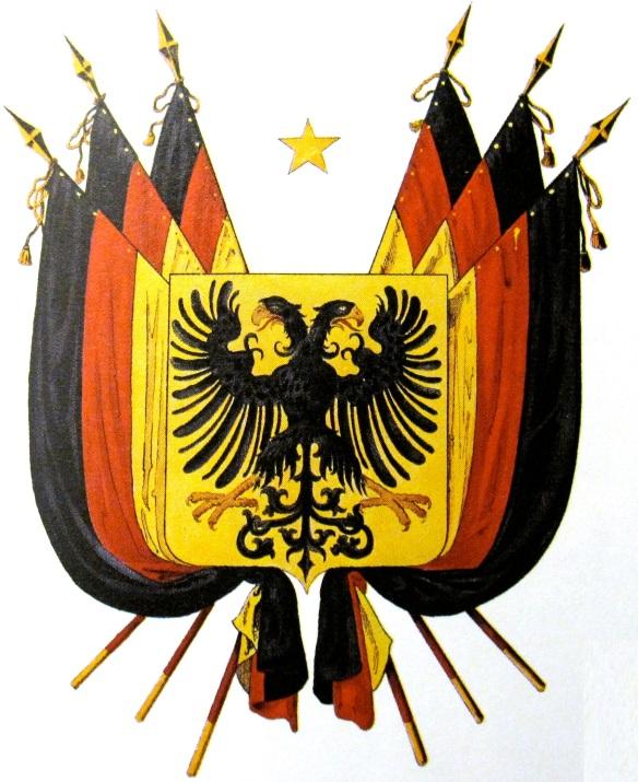 Wappen Paulskirchen-Nationalversammlung 1848 März-Revolution