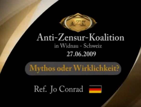 Mythos oder Wirklichkeit? | AZK - Anti-Zensur-Koalition | anti-zensur.info [4. AZK-Konferenz - 27. Juni 2009]