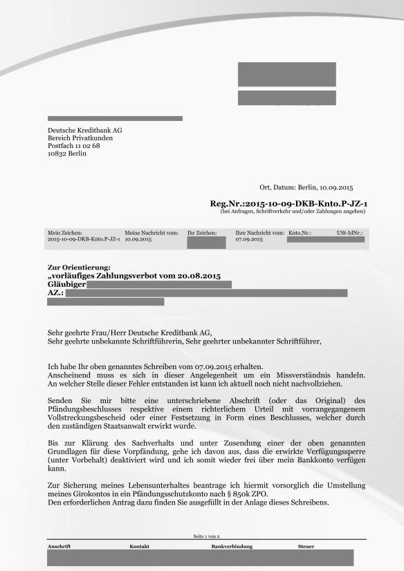 Reg.Nr.2015-10-09-DKB-Knto.P-JZ-1 Antwort auf Vorpfändung vom 20.08.2015 Seite_01