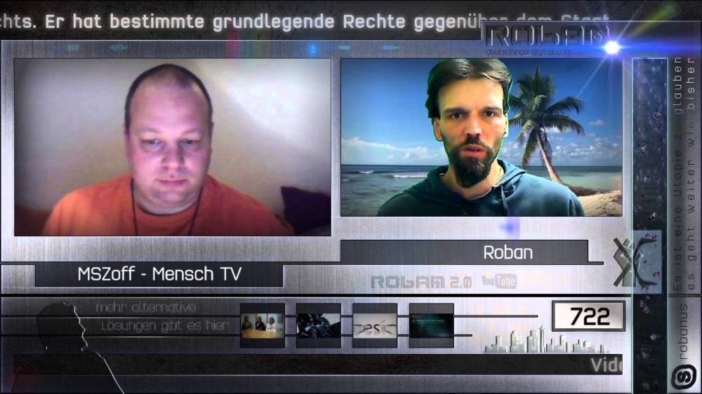 Video-Interview ROBAN 2.0 mit MSZoff vom 24.01.2016